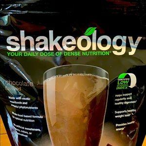 Chocolate shakeo